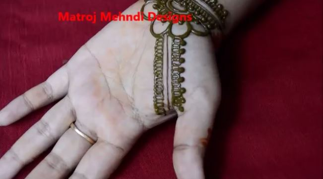 Easy Simple Floral Mehndi Henna Designs For Hands Matroj