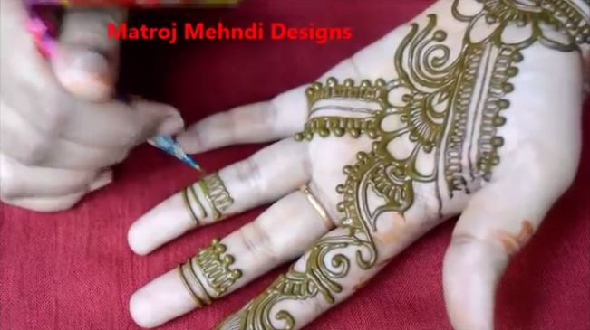 Easy Simple Floral Mehndi Henna Designs For Hands Mehndi Designs