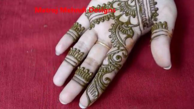 Easy Simple Floral Mehndi Henna Designs For Hands Mehndi Designs
