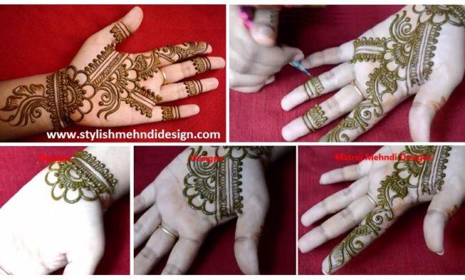 Mehndi Flower Designs Easy : Easy simple floral mehndi henna designs for hands