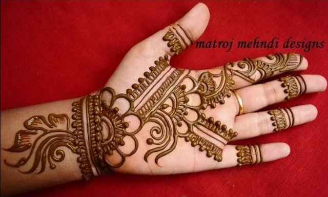 Mehndi Flower Designs For Hands : Easy simple floral mehndi henna designs for hands