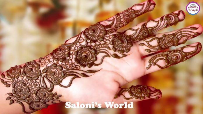 Latest Gulf Henna Designs 3d Mehndi Designs For Hands Artsycraftsydad