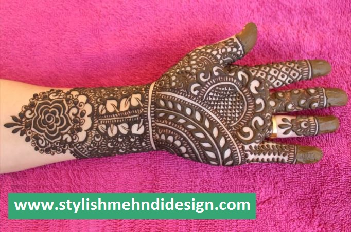 Latest Full Hand Mehndi Design 2018 - ArtsyCraftsyDad