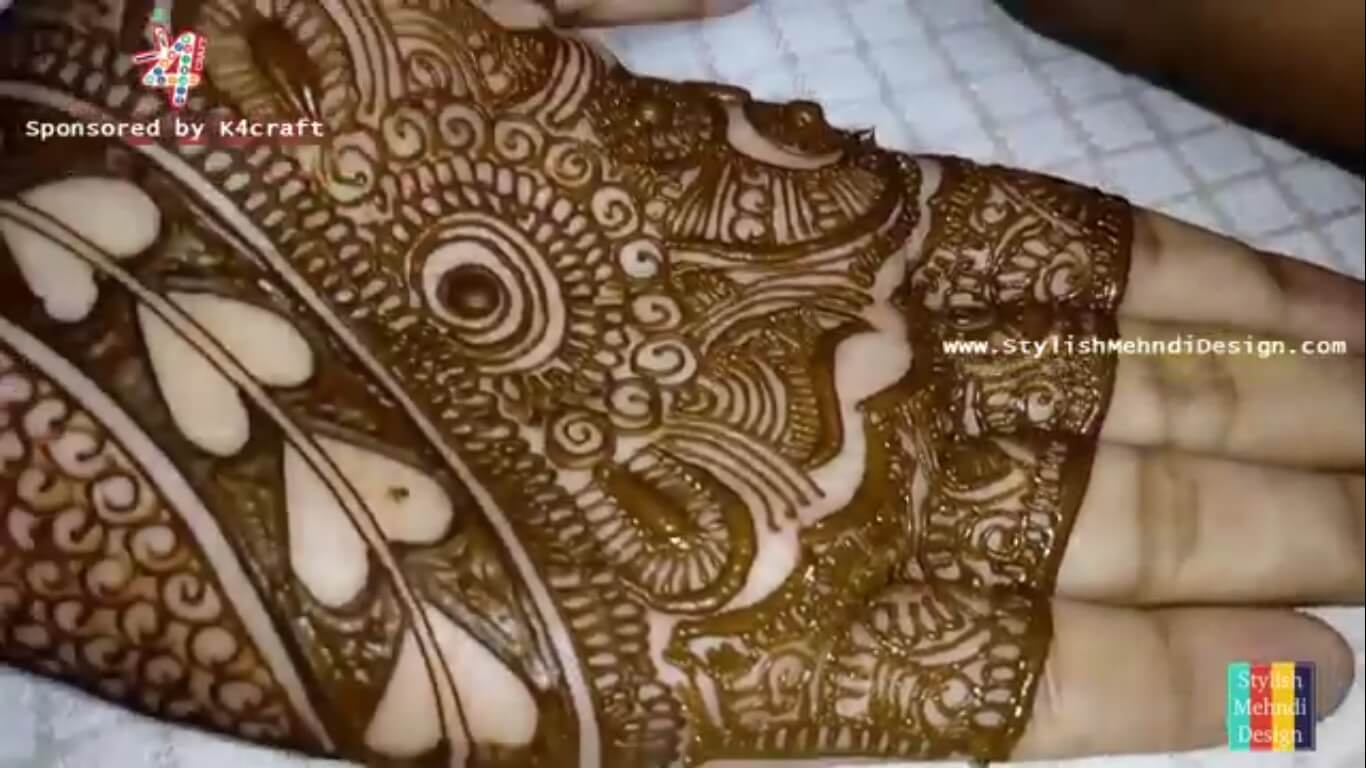 Mehndi Bridal Design Latest : Top bridal dulhan mehndi design collection for wedding day