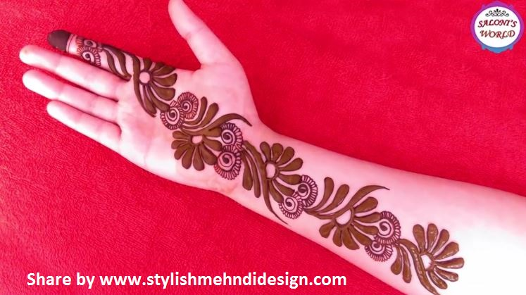 Arabic Mehndi Designs For Hand : Latest d arabic mehndi designs for hands