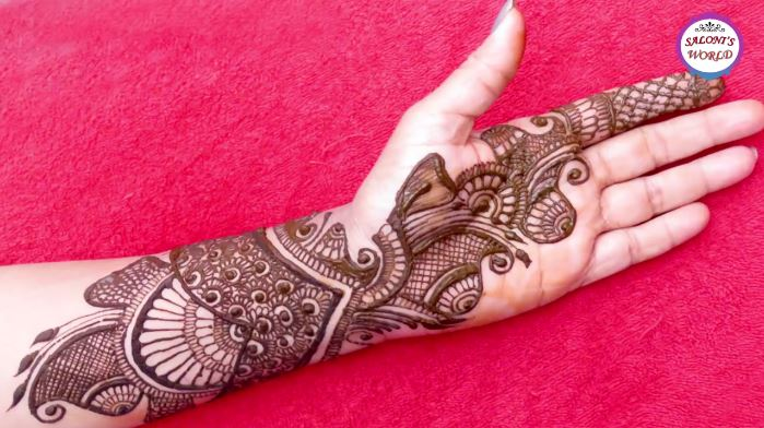 Mehndi Henna Designs S : Beautiful arabic henna designs bridal mehndi