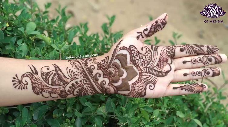 Simple Arabic Mehndi Art Deigns For Hands 2018 , ArtsyCraftsyDad