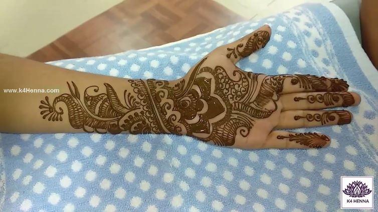 Mehndi Art Simple : Simple arabic mehndi art deigns for hands designs