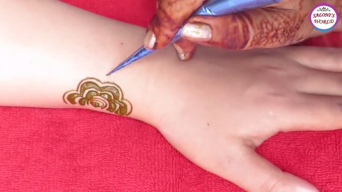 Mehndi Tattoo Back Hand : Latest gulf style henna mehndi designs for back hand
