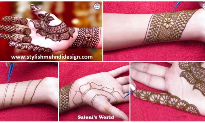 Arabic Mehndi Designs For Hand : Latest mehndi designs for hands arabic henna tattoo