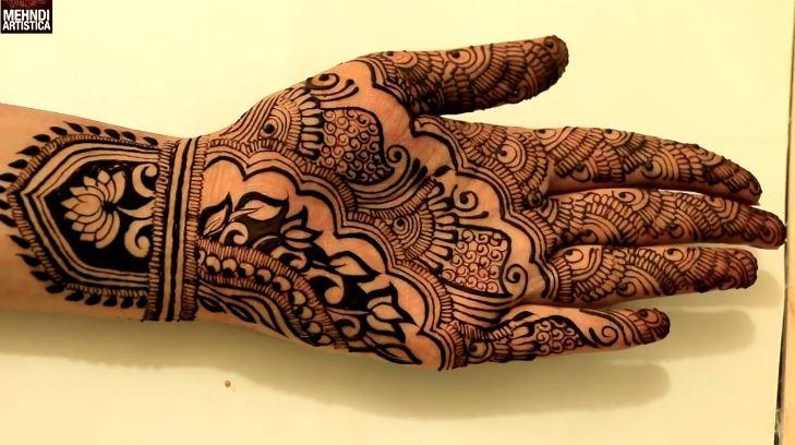 Mehndi Wrist : Traditional rajasthani wrist henna mehndi artsycraftsydad