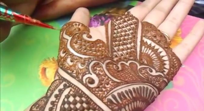 Simple Easy Bridal Henna Mehndi Full Hand 2018 Mehndi Designs