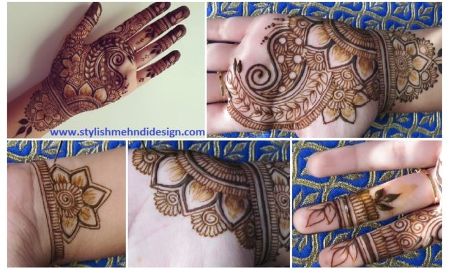 Henna Tattoo Tutorial : Henna palm design step by tutorial mehndi designs