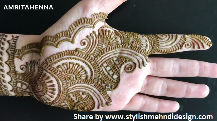 Mehndi Henna Design With Peacock Motif : Rajasthani bridal henna mehndi for indian weddings artsycraftsydad