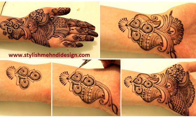Mehndi Traditional Designs : Traditional arabic henna mehndi design for hand designs