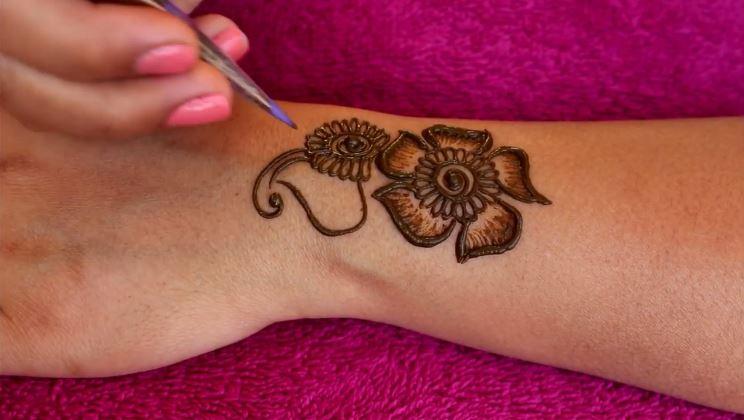 Mehndi Back Tattoo Designs : Back hand latest stylish mehndi design tutorial designs