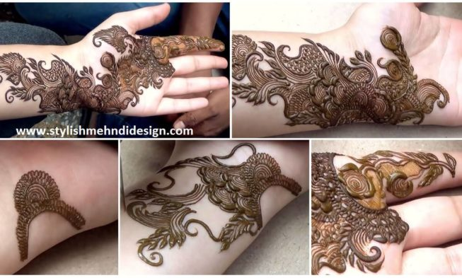 How To Apply Arabic Henna Mehndi Design Mehndi Designs